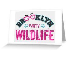 Brooklyn Wildlife Party Greeting Card