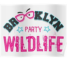 Brooklyn Wildlife Party Poster