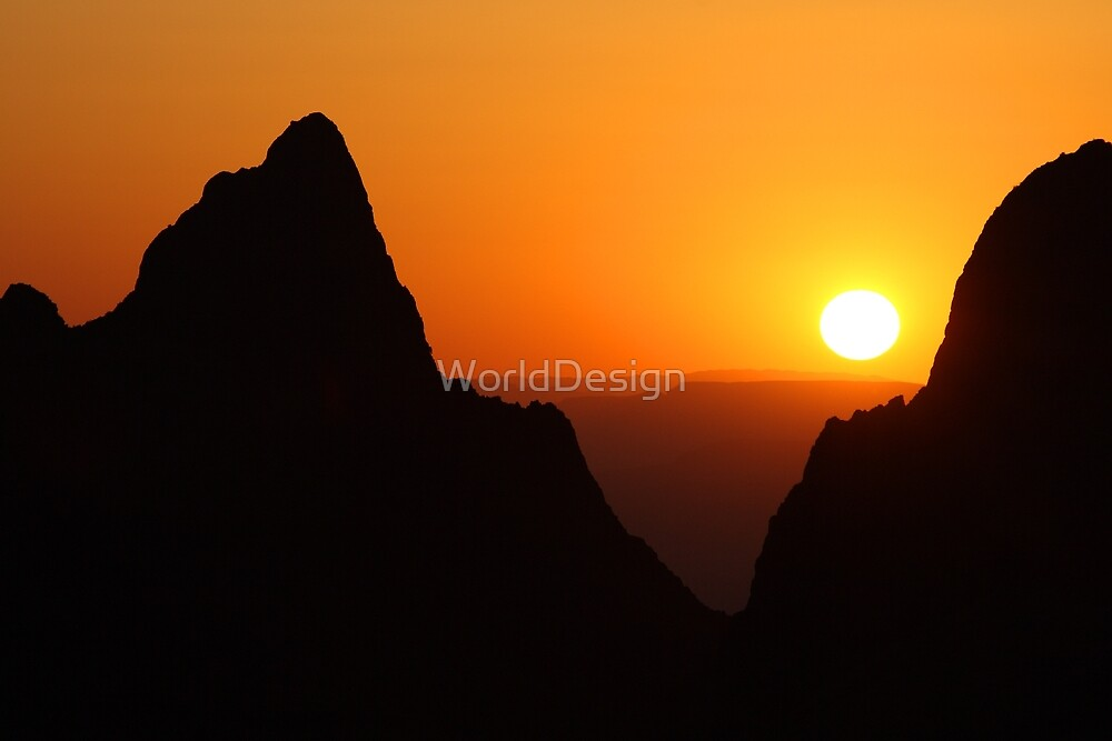 Sunset at the Window by WorldDesign