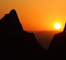 Sunset at the Window by William C. Gladish, World Design