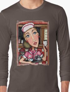 Retro Diner Diva T-Shirt T-Shirt