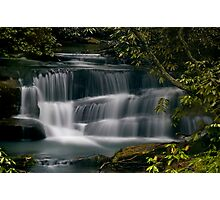 Falls on Crow Creek Photographic Print