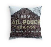 Ohio Snow!! Throw Pillow