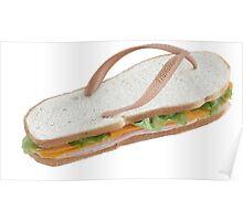 Sandwich Flip Flop Poster