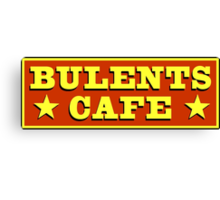 Bulents Cafe Mugs, T-Shirts and more! From Count Arthur Strong Canvas Print