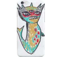 All Seeing Sea Monster iPhone Case/Skin