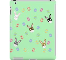 Easter Bunnies with Easter Eggs iPad Case/Skin