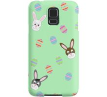 Easter Bunnies with Easter Eggs Samsung Galaxy Case/Skin