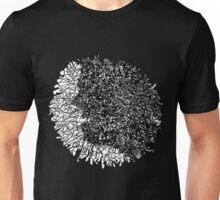 Scribble Head Clear Unisex T-Shirt