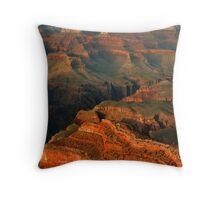 Grand Canyon Landscape Throw Pillow