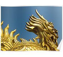 Golden Dragon Poster