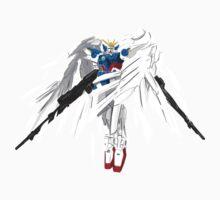 XXXG-00W0 WING GUNDAM ZERO (ENDLESS WALTZ) One Piece - Short Sleeve