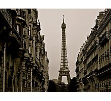 Paris, Step Back in Time Photographic Print