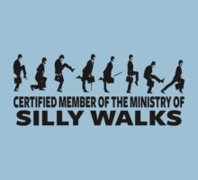 Certified Member Of The Ministry Of Silly Walks One Piece - Short Sleeve