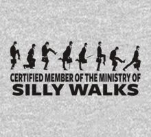 Certified Member Of The Ministry Of Silly Walks Baby Tee