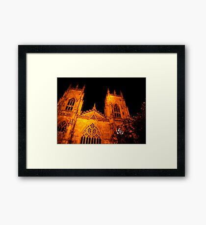 The Minster - York Framed Print