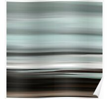 Abstract Seascape 13 Poster