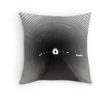 End of a Dark Tunnel Throw Pillow