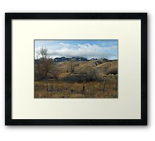 Brush with Greatness Framed Print