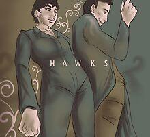 Hannibal - Gay Hawks by Furiarossa