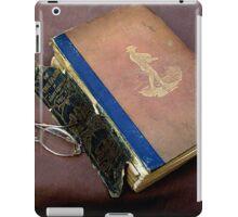 Elderly Farm Book iPad Case/Skin
