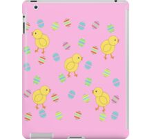 Easter Chicks with Easter Eggs iPad Case/Skin