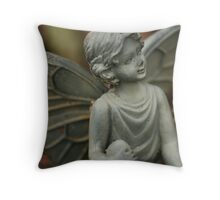 Away with the Fairies - Happiness Throw Pillow