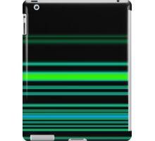 Green Neon Stripes iPad Case/Skin