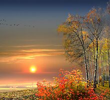 Autumn Evening by Igor Zenin