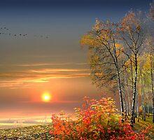 Autumn Evening by Igor Zenin