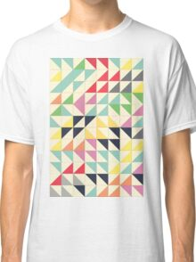 Triangles and Squares III Classic T-Shirt