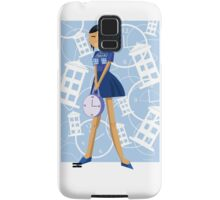 Time Traveling Girl Samsung Galaxy Case/Skin