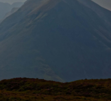 Skye, Scotland - the road to ... The Cuillin Sticker
