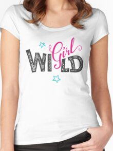 Wild Girl Women's Fitted Scoop T-Shirt