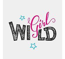 Wild Girl Photographic Print