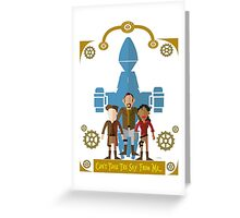 Can't Take The Sky From Me Greeting Card