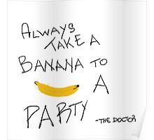 Banana doctor who Poster