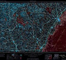 Maine USGS Historical Map Portland 460769 1963 250000 Inversion by wetdryvac