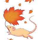 Autumn Leaves (silver fawn) by Rapps