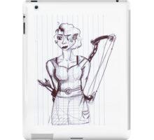 Peggy Carter (college elf girl/archery master au) iPad Case/Skin