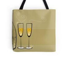 Champagne Bubbles Celebration Tote Bag