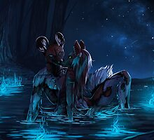 Gentle is the Night by tatiilange