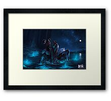 Gentle is the Night Framed Print
