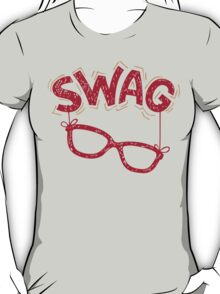 Swag Glasses typographic design T-Shirt