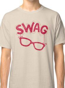 Swag Glasses typographic design Classic T-Shirt