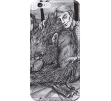 Hannibal AU - Werewolf Will iPhone Case/Skin
