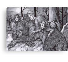 Hannibal AU - Werewolf Will Canvas Print
