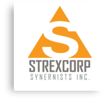 StrexCorp Synernists Incorporated. Canvas Print