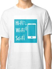 Hi-Fi Wi-Fi Sci-Fi Classic T-Shirt