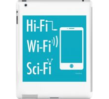 Hi-Fi Wi-Fi Sci-Fi iPad Case/Skin